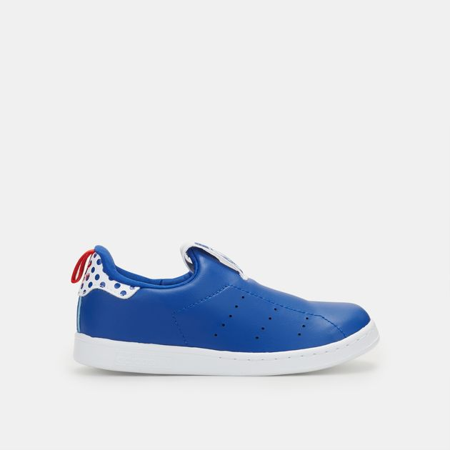 2bee1a1aef4a4 Shop Blue adidas Originals Kids  Stan Smith 360 Shoe for Kids by ...