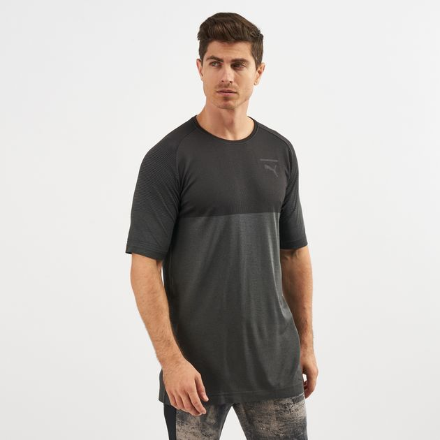 22c4cb398d4 PUMA Pace Evoknit T-Shirt | T-Shirts | Tops | Clothing | Men's Sale ...