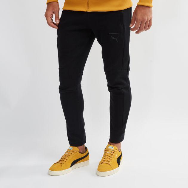 6386c00cb942 Shop Black PUMA Pace Primary Sweatpants for Mens by PUMA