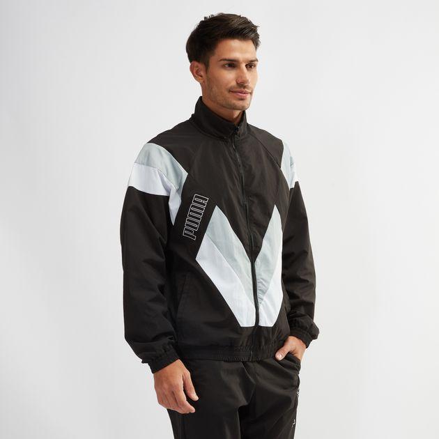 725785c21ed7 Shop Black PUMA Heritage Jacket for Mens by PUMA
