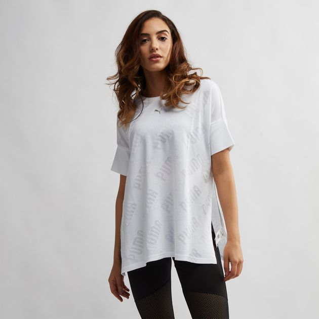 c7f5249532d91 PUMA Selena Gomez En Pointe Wide T-Shirt