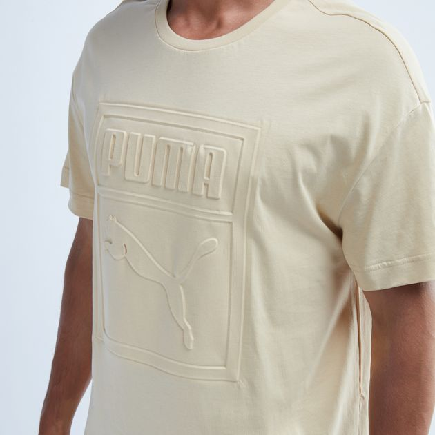 b30a218884 Shop Multi PUMA Archive Embossed Print T-Shirt for Mens by PUMA   SSS