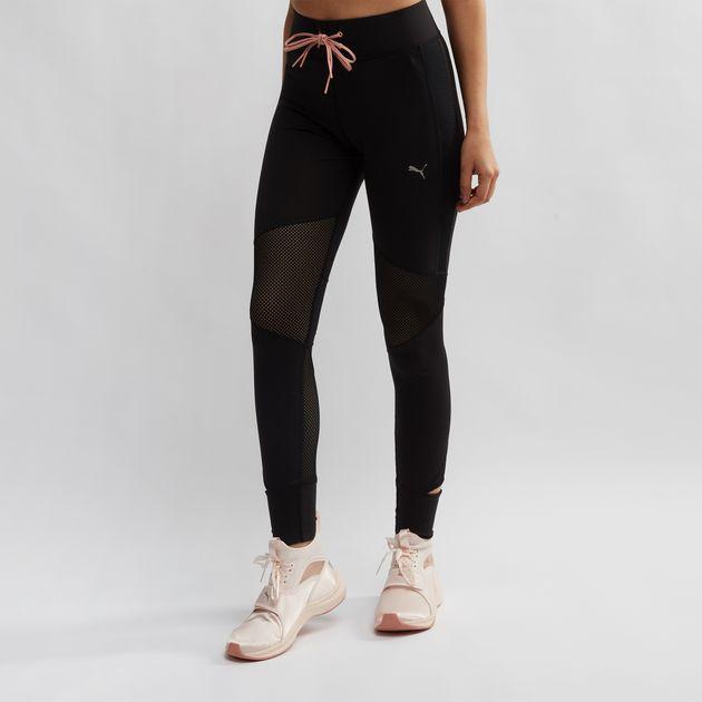 1dcac8af18cc Shop Black PUMA En Pointe Leggings for Womens by PUMA