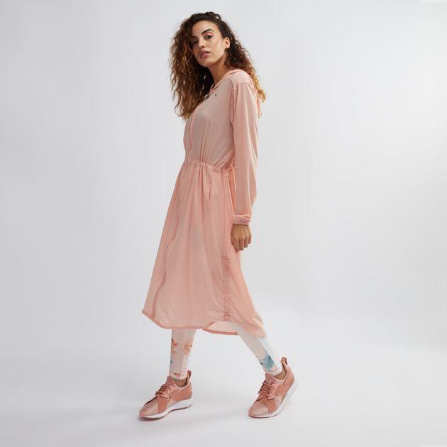 c4680502b989 Shop Pink PUMA En Pointe Jacket for Womens by PUMA