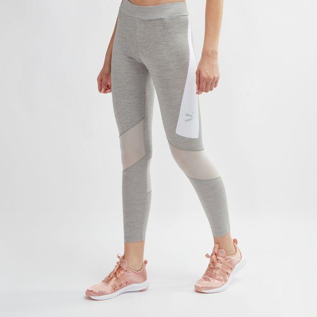 08b8e4452c203 Shop Grey PUMA Archive Leggings for Womens by PUMA | SSS