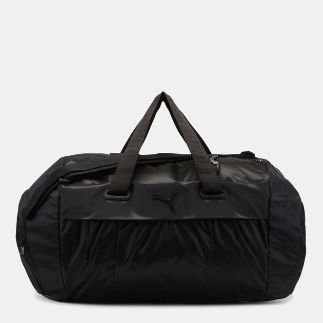 PUMA AT Sports Duffle Bag - Black 6daa53d0dbf1d
