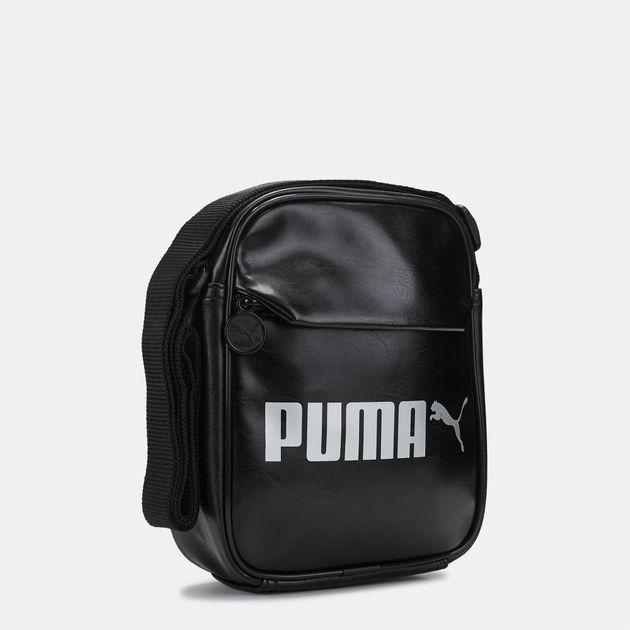 efb9311534 PUMA Campus Portable PU Bag - Black