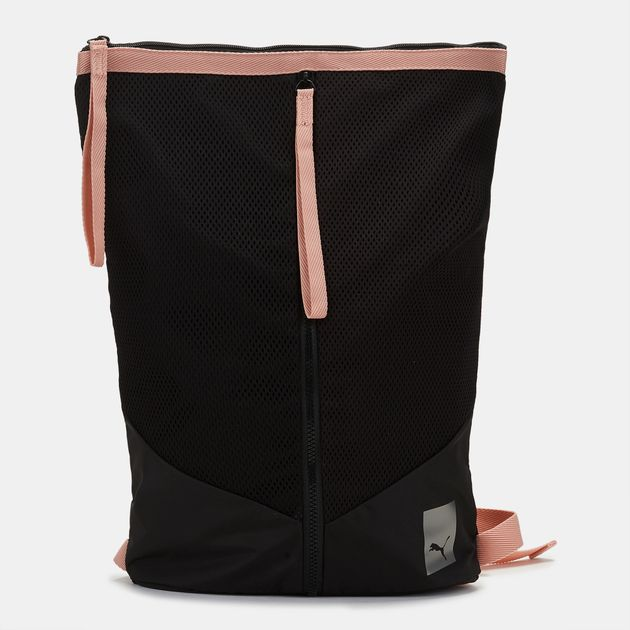 6dbe0257150 PUMA Selena Gomez En Pointe Prime Zip Backpack - Black