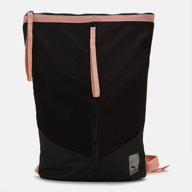 e44cc0ce36e3 Shop Black PUMA En Pointe Prime Zip Backpack for Womens by PUMA