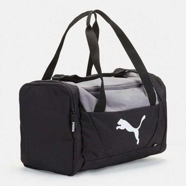 f78152cbde PUMA Fundamentals Sports Bag - Black