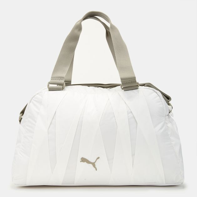5b9ad6eed39 Shop White PUMA En Pointe Sports Bag for Womens by PUMA   SSS
