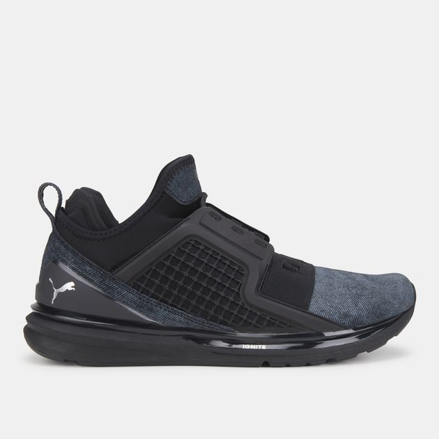 reputable site 6d5d1 c7fdb PUMA Ignite Limitless Brushed Suede Shoe | Sports Shoes ...