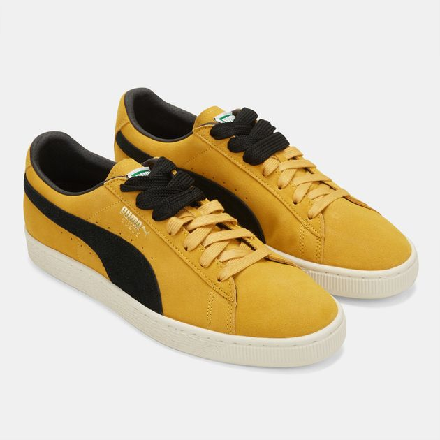check out 59d0d f32dd Shop Yellow PUMA Suede Classic Archive Shoe for Mens by PUMA ...