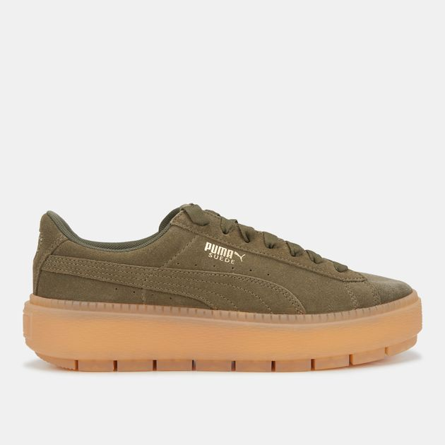 56c43269b442 Puma Suede Platform Trace Shoe