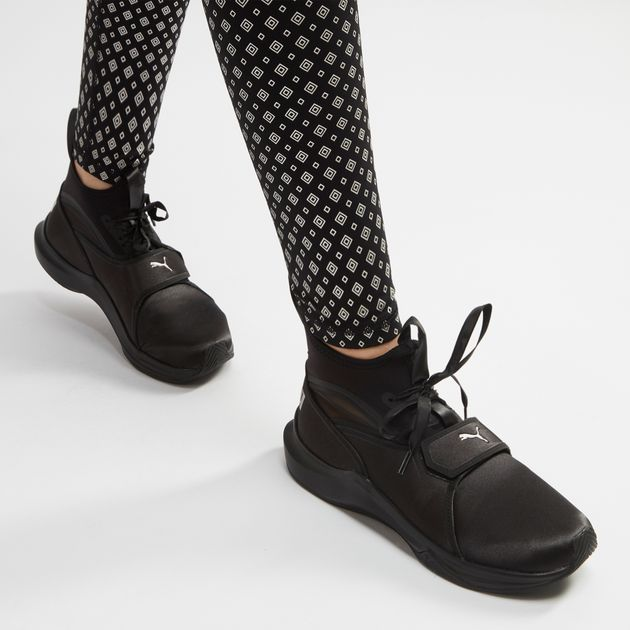 5eefaaa3117693 Shop Black PUMA En Pointe Phenom Satin Training Shoe for Womens by ...