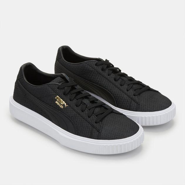 7d4bd4cd42a4b5 Shop Black PUMA Breaker Suede Shoe for Mens by PUMA