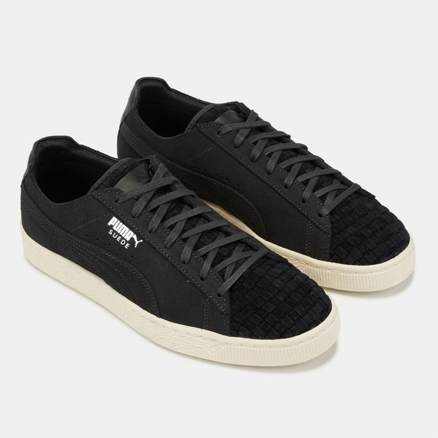 wholesale dealer cb8b3 cc29b Shop Black PUMA Ferrari Suede Lifestyle Shoe for Mens by ...