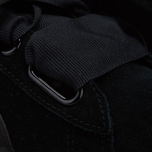 new arrival 6031b 9aa83 Shop Black PUMA En Pointe Suede Heart Shoe for Womens by ...