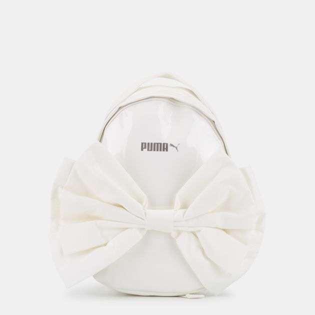 PUMA Prime Archive Bow Backpack - White 4bc010cf96936