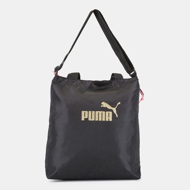 e9abf3254a PUMA Core Shopper Seasonal Bag - Black