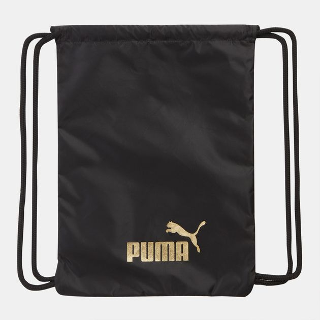PUMA Core Seasonal Gym Sack - Black