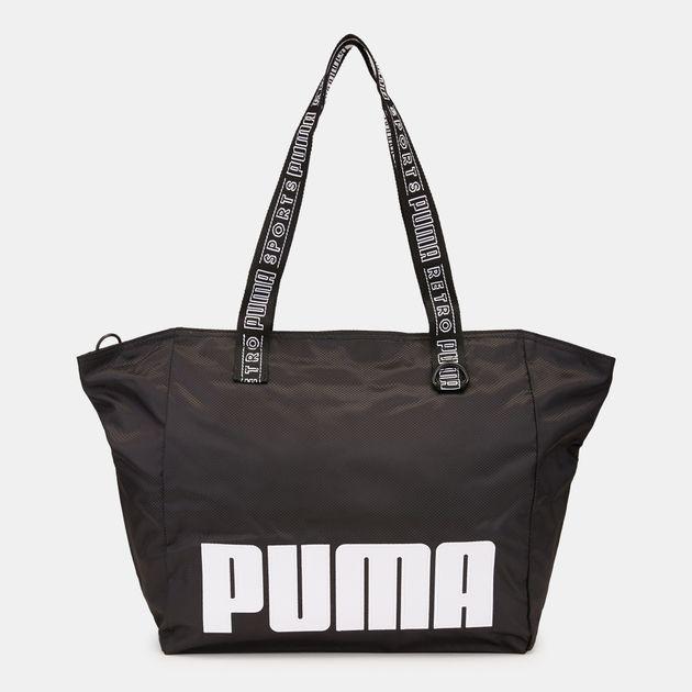 f1011c54c387 PUMA Prime Street Large Shopper Bag - Black