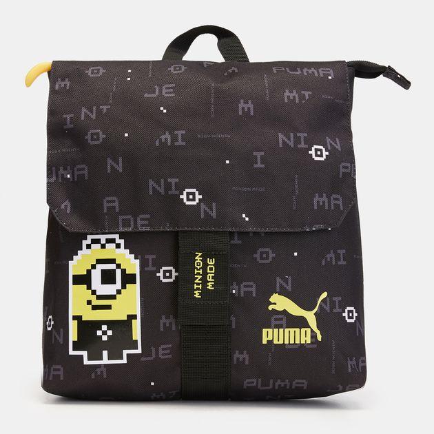 4f6ea292301b PUMA Kids  Minions Small Backpack - Black