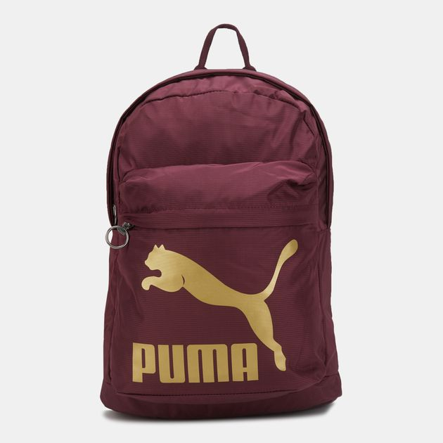 beee9c9053984f PUMA Originals Backpack - Red