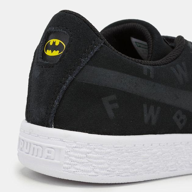 League Batman Shoes Justice Suede Kids' Puma ShoeSneakers Qhtrds