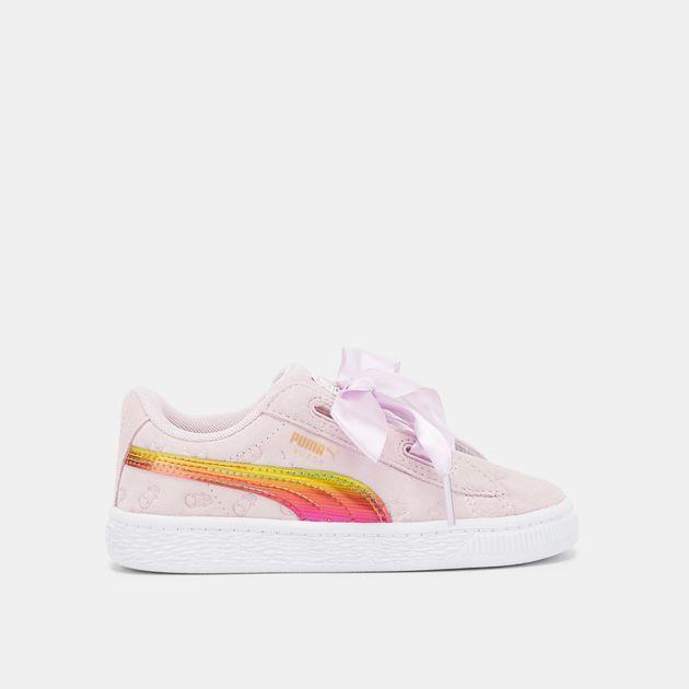 924a2e7c75 PUMA Kids' Minions Fluffy Suede Shoe | Sneakers | Shoes | Kids' Sale ...