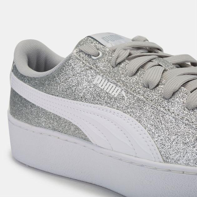 PUMA Kids  Vikky Platform Glitz Shoe  8893efff4