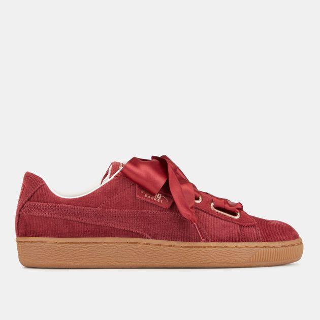 c18ab20efe02 PUMA Basket Heart Corduroy Shoe