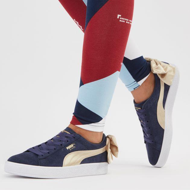 PUMA Suede Bow Shoe