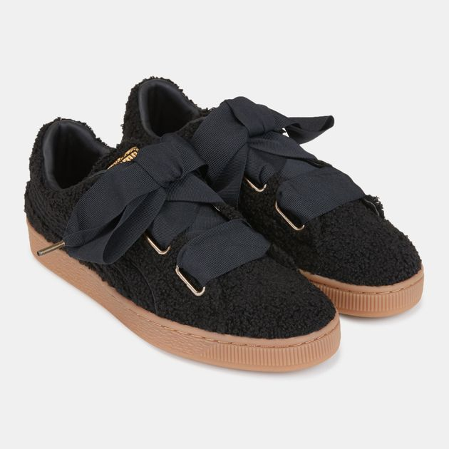 new concept af101 6bdf5 PUMA Basket Heart Teddy Shoe | Sneakers | Shoes | Women's ...