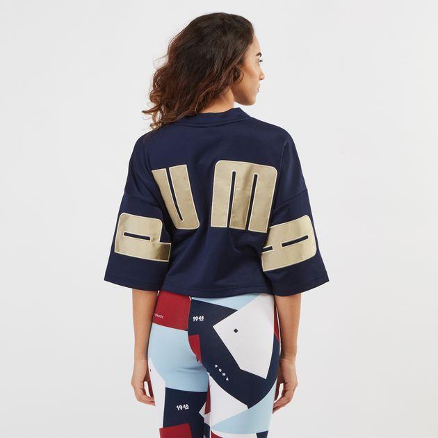 PUMA Retro Crop T-Shirt