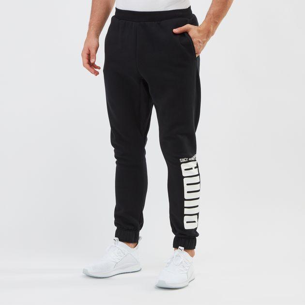 b0809bc180 PUMA Rebel Bold Fleece Pants | Jogging Bottoms | Pants | Clothing ...