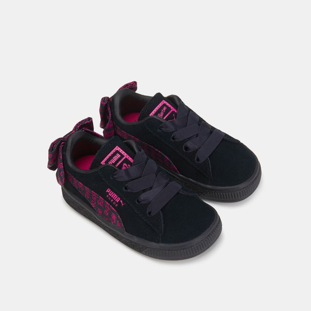 wholesale dealer 3ad5b a2e0b PUMA Kids' Suede Classic X BarbieNoDoll Shoe (Baby and Toddler)