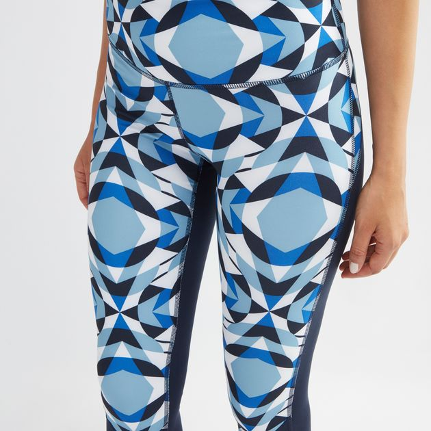 d97faa7c4ecbc Shop Blue adidas Wanderlust Long Leggings for Womens by adidas - 9 | SSS