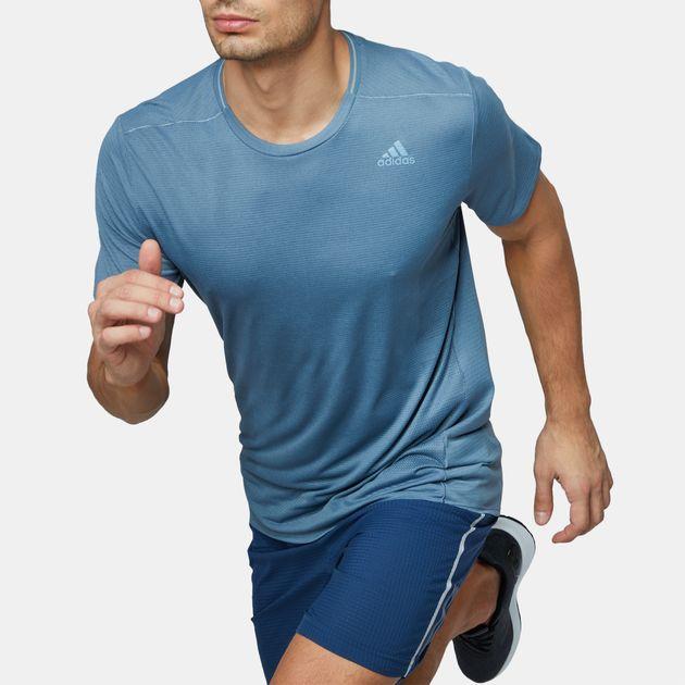 ef4377f78 Shop Grey adidas Supernova Running T-Shirt for Mens by adidas