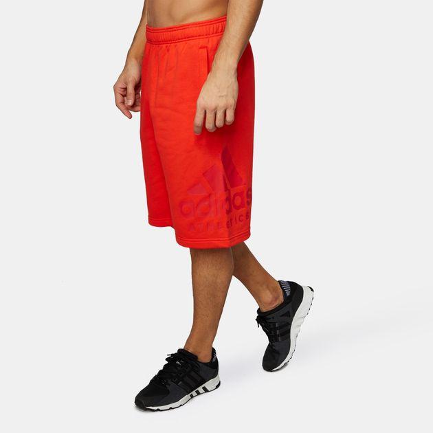 6e428db894595 Shop Red adidas SID Athletics Logo Shorts for Mens by adidas | SSS