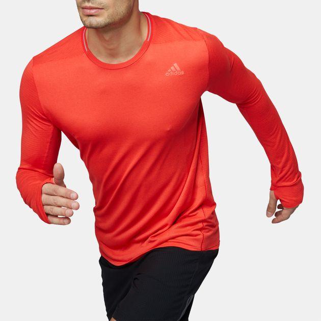 adidas supernova shirt long sleeve