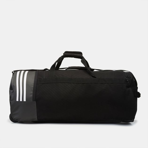 adidas 3-Stripes Duffel Bag XL with Wheels   Duffel Bags   Bags and ... a0ab570ba9