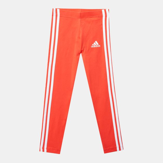 e723ef0d6 Shop Red adidas Kids' Little Girls Cotton Tights for Kids by adidas ...