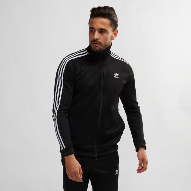 7ff702dc3063 Shop Black adidas Originals Adicolor Beckenbauer Track Jacket for ...