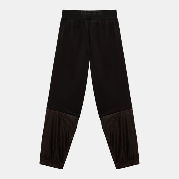 44e859b8d Shop Black adidas Kids  Knit Messi Pants for Kids by adidas