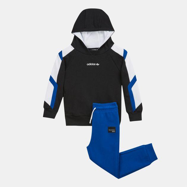 online store bed9e e66fd adidas Originals Kids' EQT Hoodie Set (Infant)   Tracksuits ...