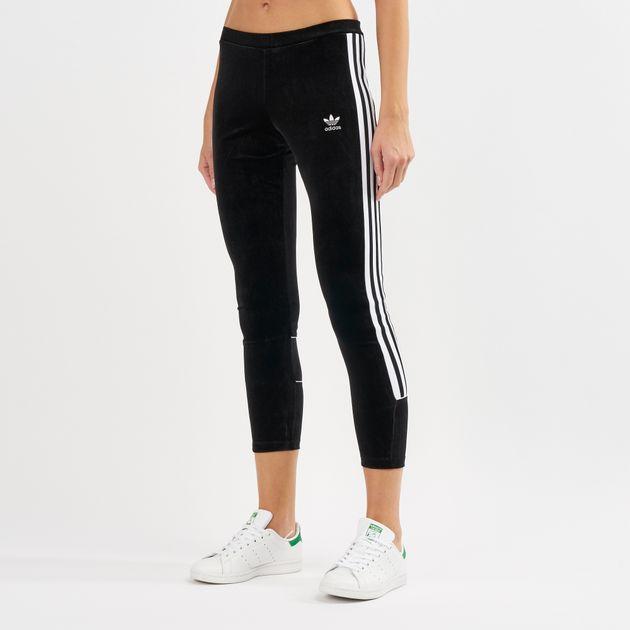 5aaa7db2f360e adidas Originals Velvet Leggings   Full Length Leggings   Leggings ...