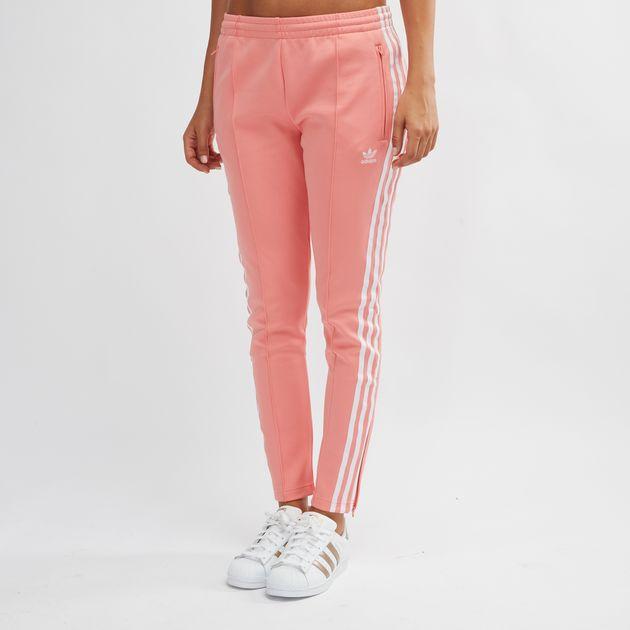 622444fbe6339 Pink adidas Originals SST Track Pants | Track Pants | Pants ...