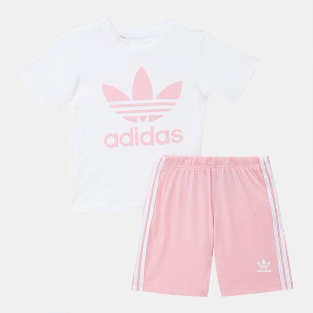 adidas Originals Kids' Shorts and T-Shirt Set