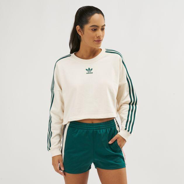 best authentic 1b133 c0cc2 adidas Originals Adibreak Cropped Sweatshirt, 1271666